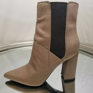 Guess suede taupe boots size 9.5